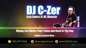 DJ C-Zer - Front