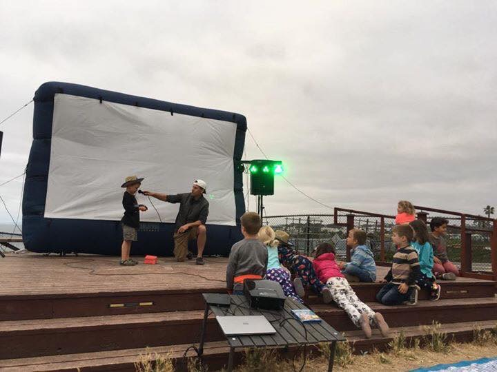 Movie Night at the beach!
