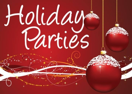 Book Your Holiday Parties
