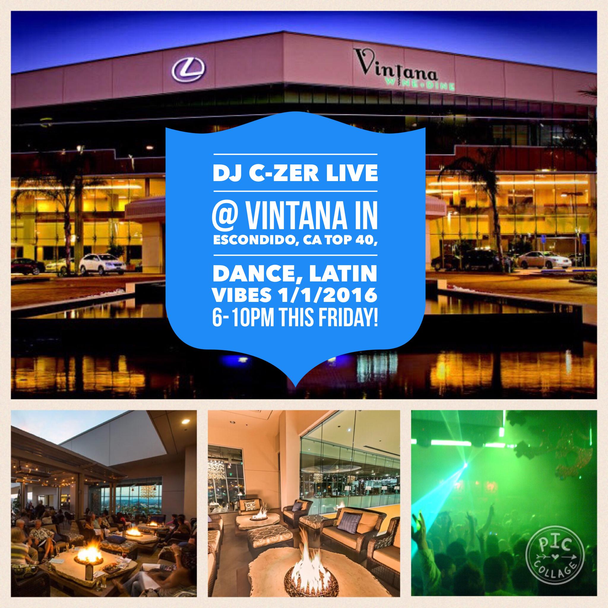 Tonight at Vintana Escondido,CA